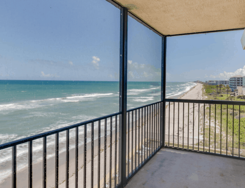 JUST LISTED – 205 Highway A1A #506, Satellite Beach, FL 32937 – $299,900